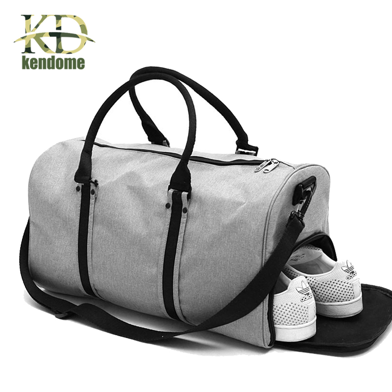 2018 Hot Big Capacity Outdoor Sports Single Shoulder Fitness Bags Multifunction Travel Handbag Training Gym Bag for Women Men vi ann eq 03