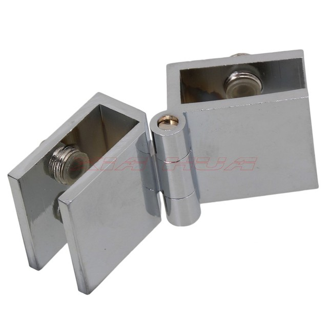 Superbe 1Pcs 180 Degree Double Opening Glass Door Hinge Glass Door 180 Degree Hinge  Plank Door