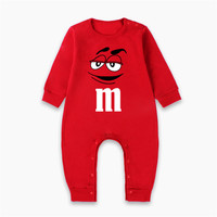 2018 Brand New Fashion Newborn Toddler Infant Baby Boys&Girls Romper Long Sleeve Jumpsuit Playsuit M Chocolate Outfits Clothes