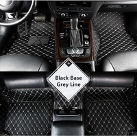 Synthetic Leather Car Floor Foot Mat For AUDI A3 A4 A5 A6 A7 A8 Q3 Q5 Q7 TT 4S STORE GIFT BABY520 6 Color Available