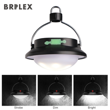 BRILEX Solar Lamp Portable LED Lantern Dimmable Rechargeable Waterproof  for Camping Hiking Fishing etc.