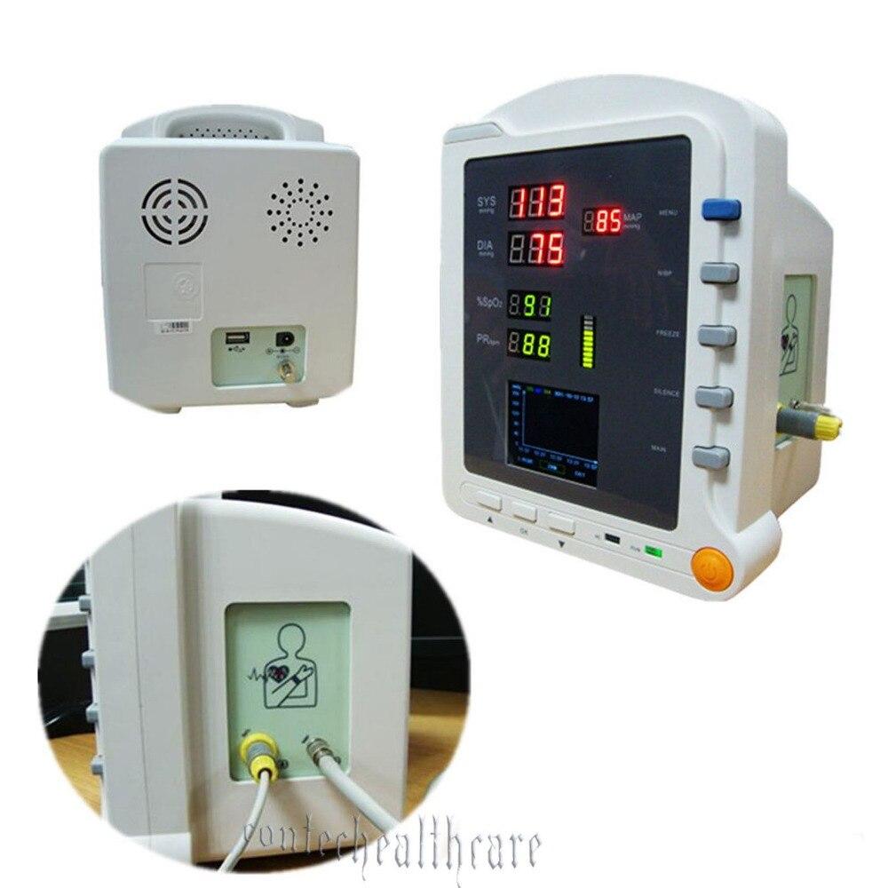 Горячие продажи ручной ce 2.8 TFT ЖК дисплей Vital Sign nibp SPO2 PR монитор пациента, ce, fda