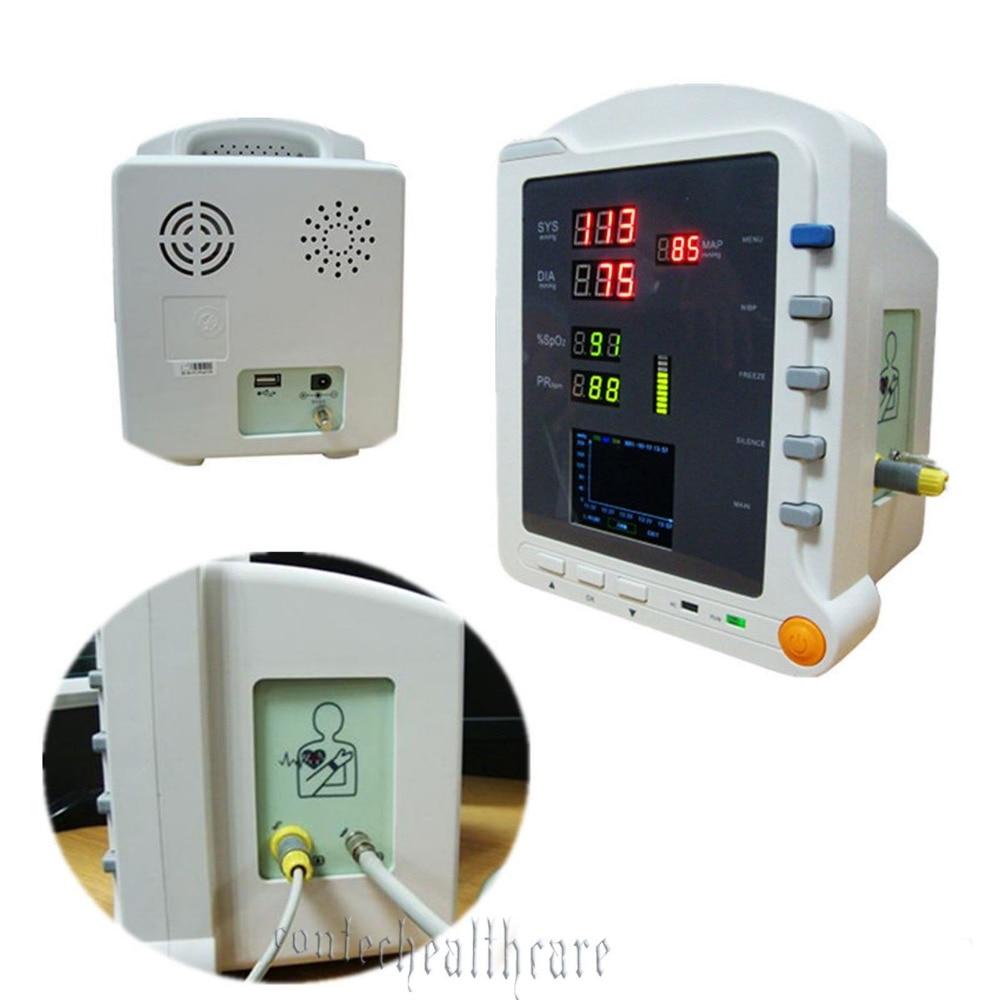 HOT SALE Handheld CE 2 8 TFT LCD Vital Sign NIBP SPO2 PR Patient Monitor CE