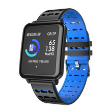 RAVI T2 Smart Watch Blood Pressure Heart Rate Monitor Stopwatch Sports Tracker Smartwatch IP67 APP Connect Iphone Android IOS