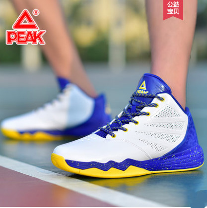basketball shoes men's shoes 2018 summer new student boots in the breathable wear-resistant black sports shoes Peak цена