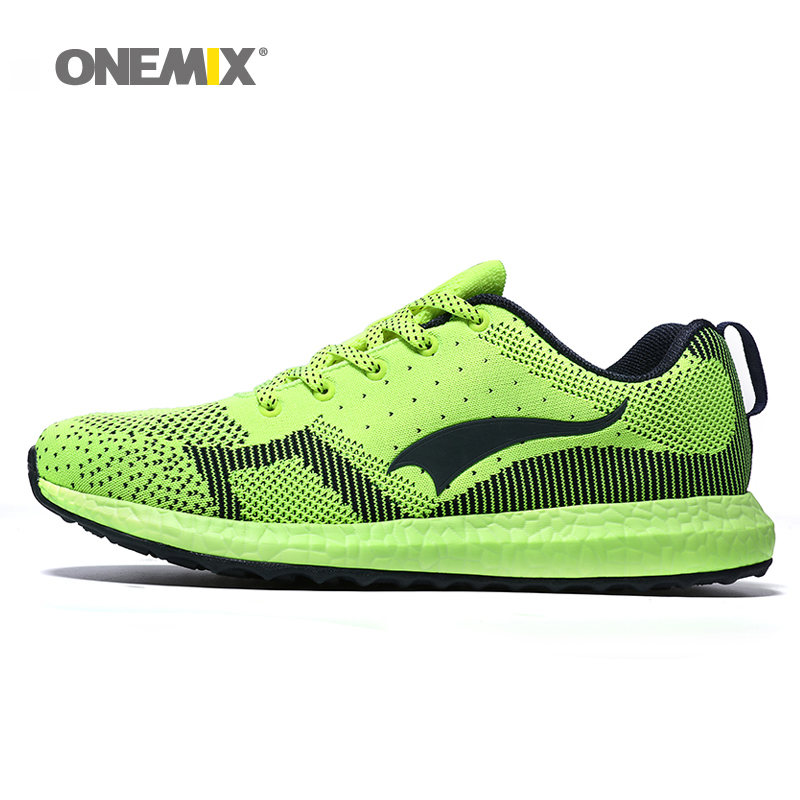New onemix Breathable Mesh Running Shoes for Men Women light Lady Trainers Walking Outdoor Sport Comfortable sneakers 2016 hot mesh breathable women running shoes comfortable platform sport shoes sneakers outdoor movement female chaussures femme