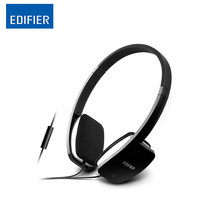 Edifier H640P Phone Headphones Wired Control Deep Bass Earphone Versatile Connection Headset with Microphone for Computer phone(China)