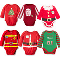 2016 Kids Girl Baby Boy Bodysuit Clothing Set Merry Christmas Cotton Baby Playsuit Jumpsuit Clothing Newborn-Baby-Clothes Outfit