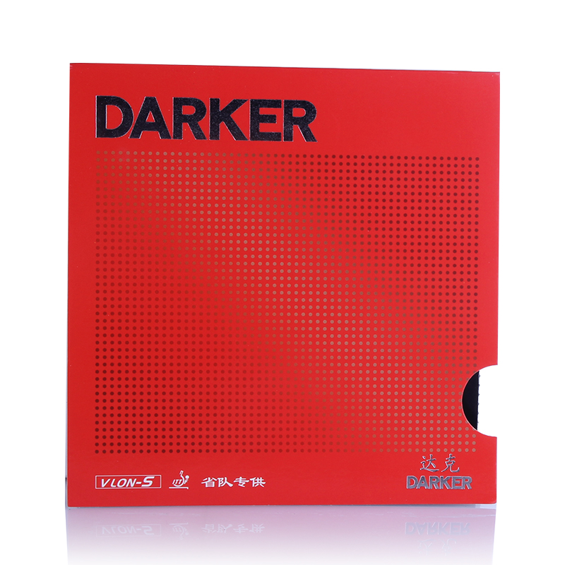 DARKER Provincial VLON-S Pimples In PRO PROV Table Tennis Rubber Ping Pong Sponge Tenis De Mesa fifty shades darker