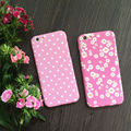 Alta calidad floral de la vendimia rosa 360 grados proteger plena teléfono case con vidrio templado para el iphone 5,6, 6 s, 6, más 7,7 más cubierta