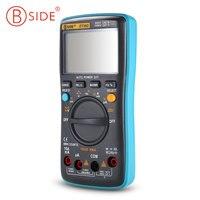 BSIDE ZT302 Portable Handheld Digital Multimeter 9999 Counts True RMS Auto Range Multimeter LCD Display Electrical