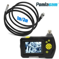 Dia 8.2mm 1m 3m cable Handheld Digital Video Endoscope camera system NTS100 2.7 Color LCD Pipe Tube Snake Inspection Camera