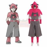 Pokemon Team Magma Cosplay Costume Cosplay Costume custom made halloween costume