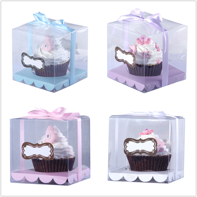 wedding cake boxes for transporting free shipping transparent cupcake box clear cake box with 22067