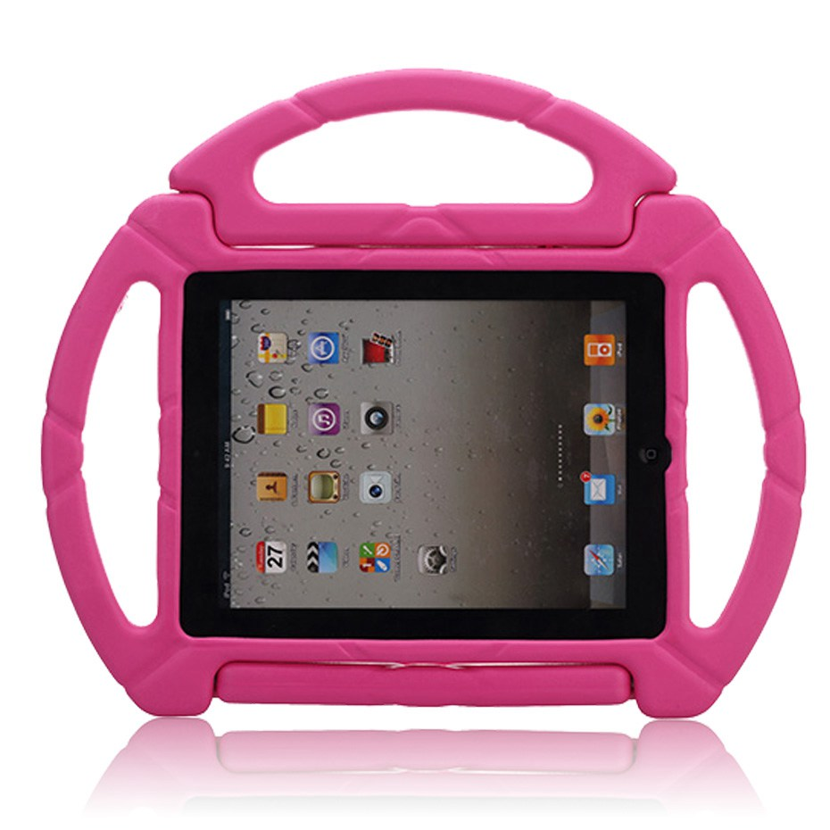 Non-toxic EVA Foam Cover for ipad 2 case kids Shock Proof cover with stand Shockproof pa ...