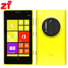 Lumia 1020 Original Unlocked Nokia Lumia 1020 GSM 3G&4G Windows Mobile Phone RAM 2GB 32GB Internal Storage smartphone