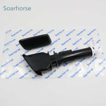 Car Headlamp Headlight Washer Sprayer Nozzle with Cover Cap For Mitsubishi ASX 2010 2011 2012 2013 2014 2015