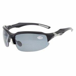 Image 2 - TH6188 бифокальный окуляр TR90 небьющиеся спортивные солнцезащитные очки бифокальные Солнцезащитные очки полуоправы очки для чтения