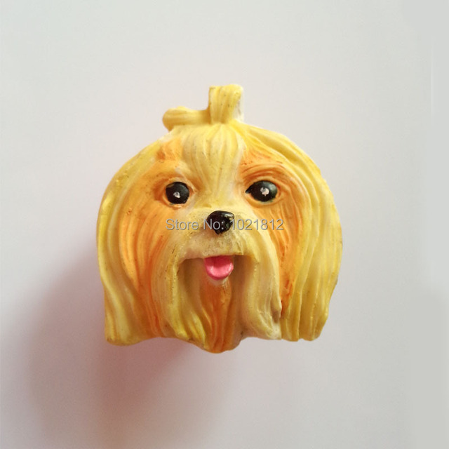 Creative Resin Handmade Cartoon Cabinet Knob Dog Head Cupboard Closet  Dresser Knob Handles Pulls Childrenu0027s Room