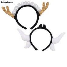 Takerlama аниме Miss Kobayashi's Dragon Maid Tooru Tohru роговые уши резинки для волос Косплей Реквизит