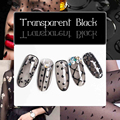 Black Transparent Gel Nail Polish UV Long-lasting Soak Off LED Gel Jelly Pudding Black Beauty Nail Art Tools 12ml
