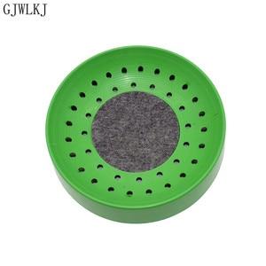 Image 5 - 비둘기 용품 플라스틱 dehumi dification 번식 조류 계란 그릇 패드 자연 섬유 잔디 그릇 공급 사육 그릇 1 pcs