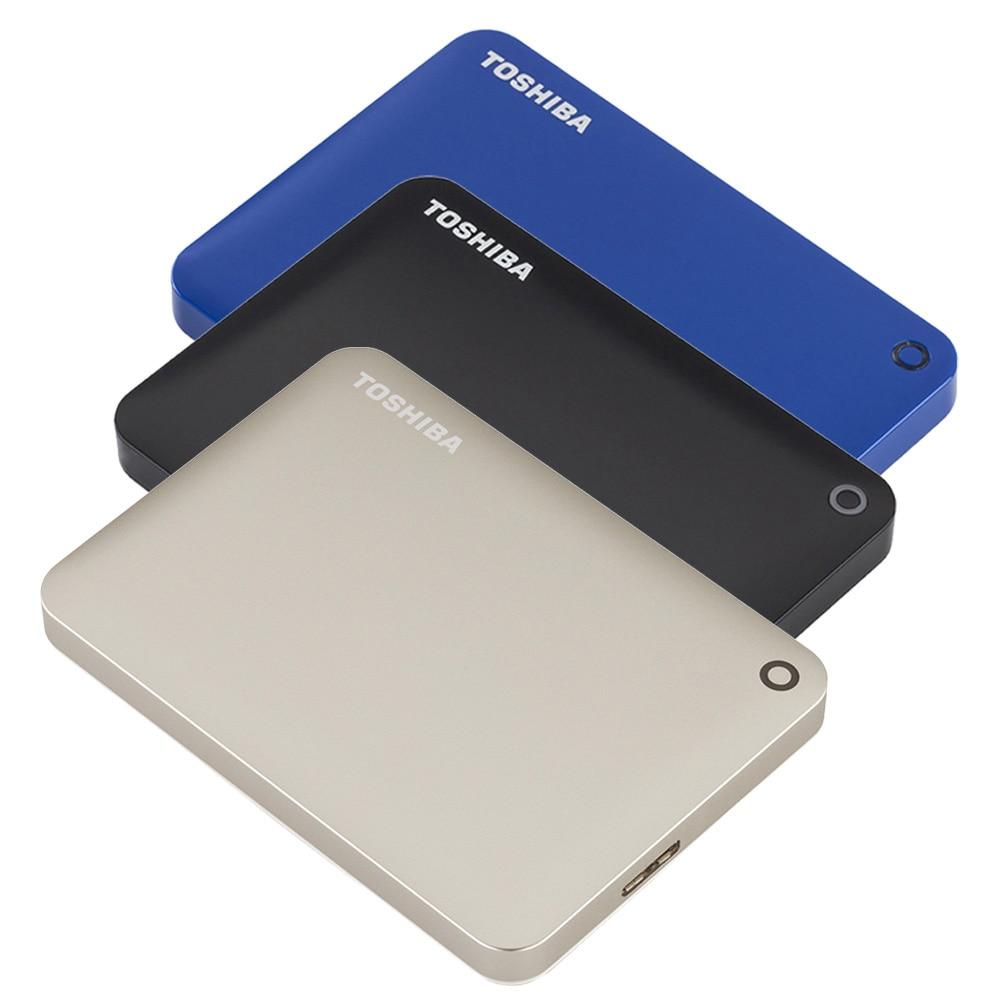 "Prix pour Toshiba Canvio Connect USB 3.0 2.5 ""1 TB 2 TB Disque Dur Externe Portable Mobile HDD Ordinateur Portable De Bureau Cryptage HDTC820YC3CA"