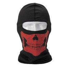 Baotou  Sports men and Women Breathable Mesh Cap Skull luminous Printing Windproof  Cap skullies  M161