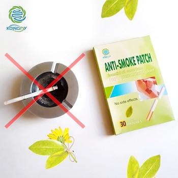 KONGDY Anti Smoke Patch 100% Natural Ingredient 30 Pcs/Box Smoking Cessation Pad Natural Herbal to Give Up Cigarette Plaster