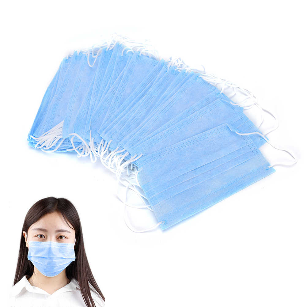 disposable face mask with earloops - anti-dust