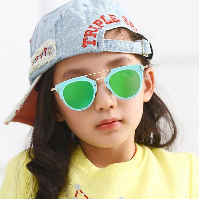 ccbdc37732 2017 Fashion Baby Boys Girls Infant Sunglasses Style Brand Design Children  Sun Glasses 100% UV Protection Oculos De Sol Gafas
