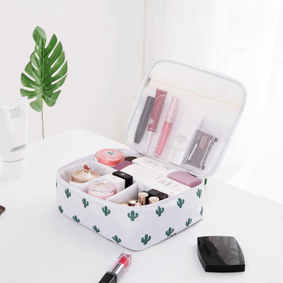 Make Up set Tool Cosmetic Toiletry kit tool accessories Makeup Portable Travel storage Cosmetic Fashion Pouch bag