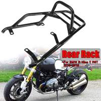 Motorcycle Rear Luggage Rack Motorcycle For BMW R Nine T R9T 2013 2018 With Passenger Grab Handle Bar