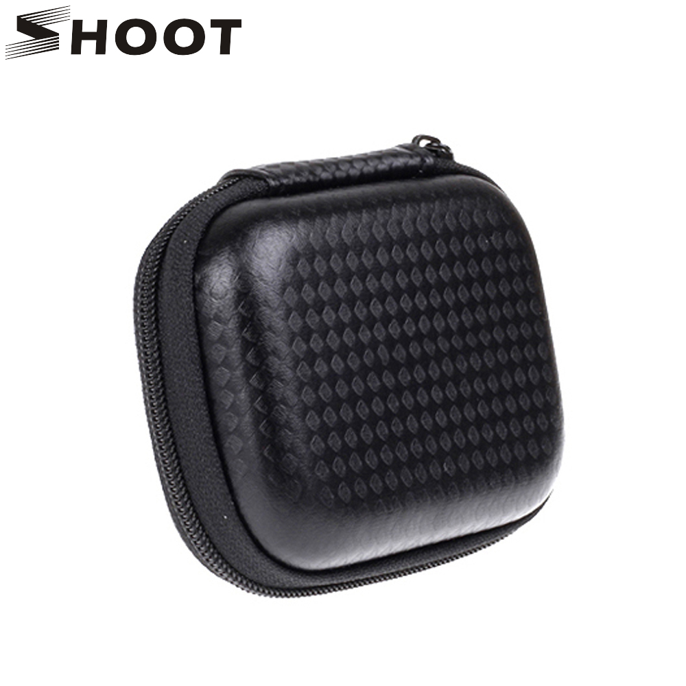 Portable Small Size Waterproof Camera Bag Case for Xiaomi Yi 4K Bag Mini Box Collection Case for Gopro Hero 4 Yi Accessories