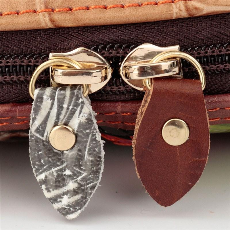 retalhos de couro genuíno bolsa Bag Estilo 2 : Patchwork Women Leather Handbags Ladies Bag