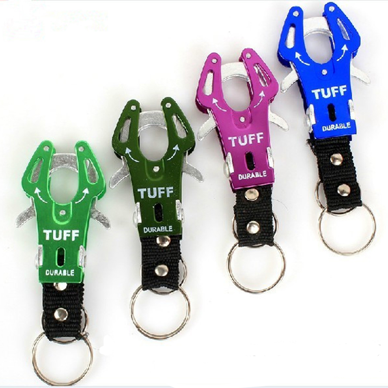 1Pc Fashion Delicate Climb Hook Carabiner Clip Lock Keyring Keychain Key Multicolor Durable Ring Chain