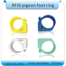 100 шт курица утка голубь ножное кольцо транспондер rfid карта