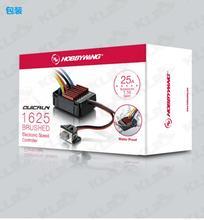 Hobbywing contrôleur de vitesse électronique QuicRun, 1060/1625, brossé ESC pour voiture RC 1:10 / 1:18 1:16, nouveau modèle F17549/50