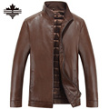 New Men Leather Biker Jackets Autumn Winter Mens Leather Jacket Brand Casual Zipper Faux Leather Jacket And Coats Men Clothing