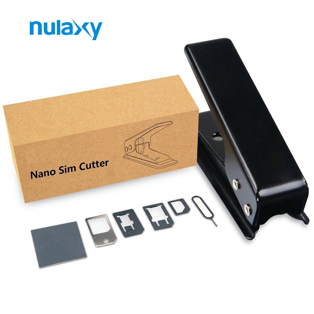 Nulaxy Sim Card Adapter High Quality Sim Card Cutter Nano-Micro Nano-Standard Micro-Standard Nano Sim Adapter for Cellphone