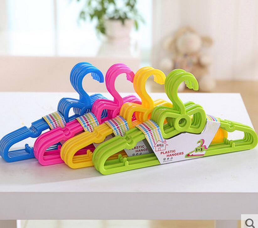 10 teile / los 30 cm Kunststoff Feste kinderbügel baby kleiderbügel - Home Storage und Organisation - Foto 2