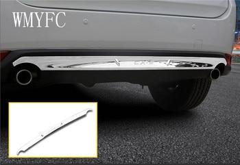 Auto Body Cover Bescherming Bumper ABS Chrome Trim Achter Back Staart Bodem Rond Panel 1 Stks Voor Mazda CX-5 CX5 2nd Gen 2017 2018