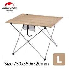 Naturehike фабричная открытый складной стол ультра-светильник алюминиевый сплав структура портативный кемпинг складной столик для пикника