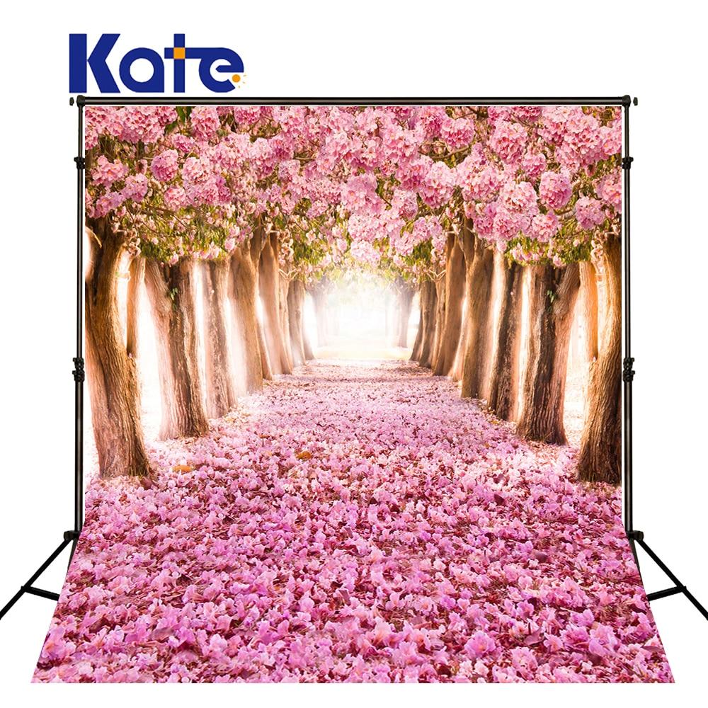 KATE Photo fond rose forêt photographie décors naturisme enfants Photos Floral mariage Photos printemps décors décors
