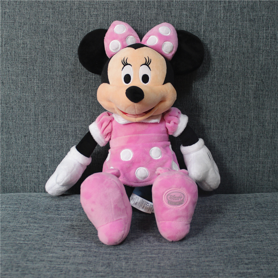 2017 new 1pcs 45cm Original Minnie Mouse pink color doll,merican edition Minnie Mouse Stuffed animals plush Toys, утюг simba minnie mouse с водой 4735135