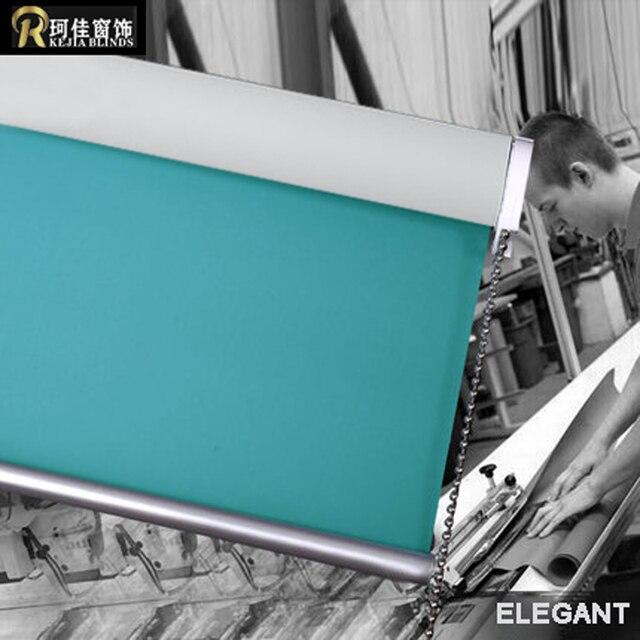 Gratis verzending effen kleur 100% verduisterende rolgordijnen de ...