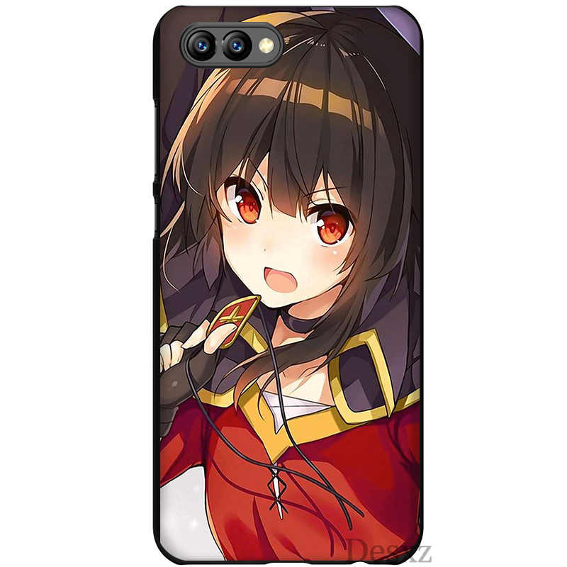 Phone Case Japan Anime Konosuba Megumin Style Luxury Fashion For Honor 6a  7C 7X 9 10 Lite Pro 8X Cover Protector