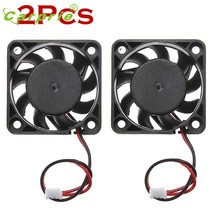 CARPRIE 2Pcs 12V Mini Computer Cooler Fan - Small 40mm x 10mm DC Brushless Cooling Fan 2-pin Mar30(China)