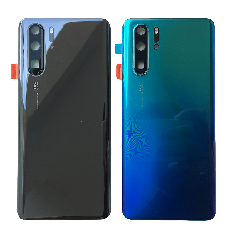 ZUCZUG New 3D Glass Rear Housing For <font><b>Huawei</b></font> <font><b>P30</b></font> Pro <font><b>Battery</b></font> <font><b>Cover</b></font> Back Case With Camera Lens+Logo <font><b>P30</b></font> Pro Repair Part image