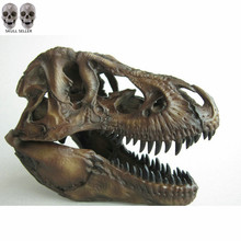 Crafts Arts Crafts 1 12 Tyrannosaurus Rex Dinosaur Skull Handicrafts Resin Fossil Simulation Skull Model For